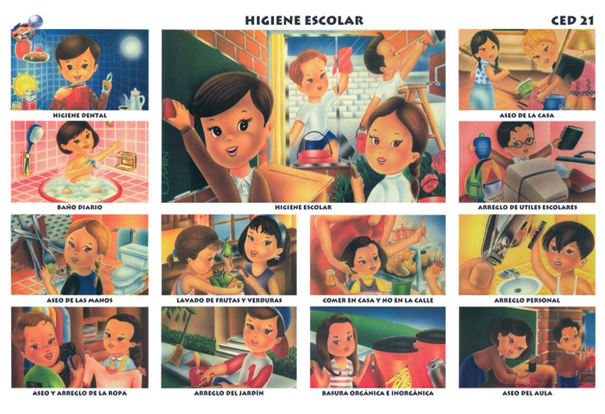 Higiene escolar | Ediciones Bob