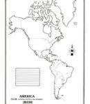 América – División política s/n