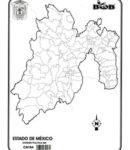 Estado de México – División política s/n