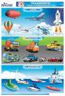 Transportes (terrestres, marítimos y aéreos)