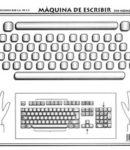 Máquina de escribir s/n
