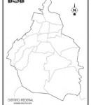 Distrito Federal – División política s/n