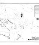 Oceanía – División política s/n