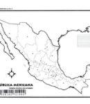 República mexicana – División política s/n