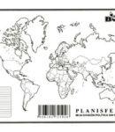 Planisferio – División política s/n