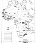 África – División política c/n