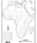 África – División política s/n