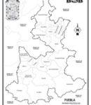 Puebla – División política c/n