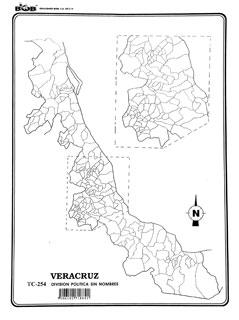 division politica veracruz: