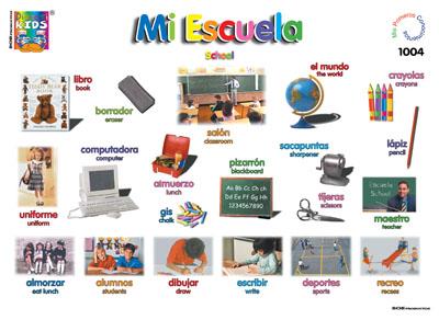 First grade b sociales for Dependencias de la escuela