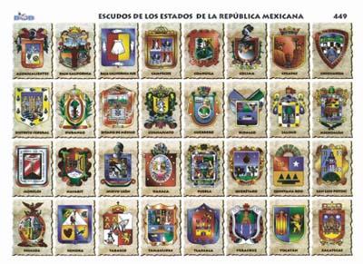 lista de los estados de la republica mexicana: